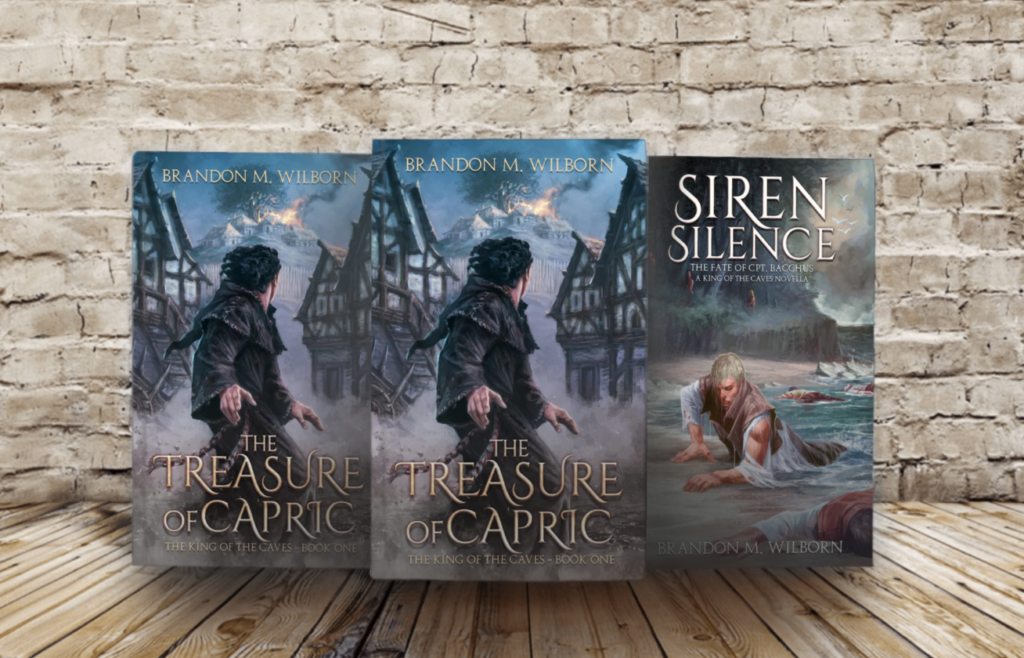 The Treasure of Capric and Siren Silence Signed Copies